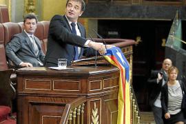 El PP veta su propuesta de castigar las «ofensas» a los símbolos españoles