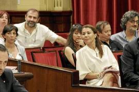 Armengol reprocha a Bauzá su «balance pobre» y Barceló le dice que «no tiene cera del Corpus»