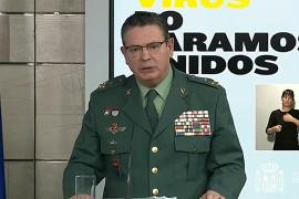 El número dos de la Guardia Civil, Laurentino Ceña, positivo en coronavirus
