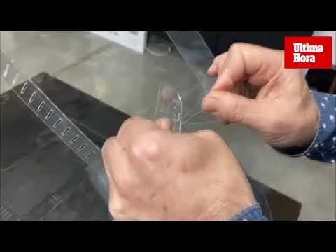 Una empresa de Mallorca fabrica máscaras protectoras en dos minutos