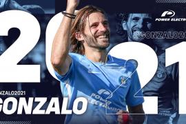 Gonzalo renueva con la UD Ibiza hasta 2021