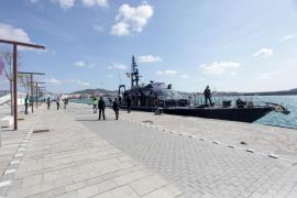 El velero cargado con cuatro toneladas de droga, en imágenes (Fotos: Daniel Espinosa).