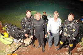 Jesús Calleja y el desafío de la cueva de sa Gleda, en el Club Ultima Hora