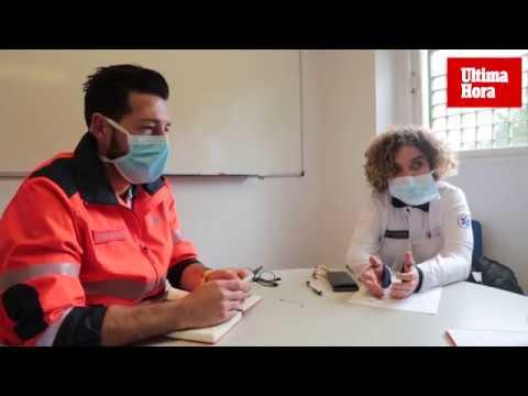 061: la primera línea del frente contra el coronavirus en Baleares