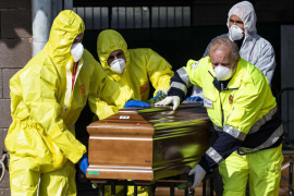 Italia rebasa los 10.000 fallecidos por coronavirus