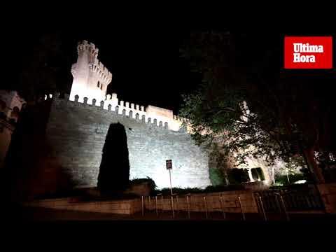Seguimiento desigual de 'La Hora del Planeta' en Palma
