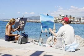 Los artistas ocuparán el Barranc de Biniaraix para la Trobada de Pintura