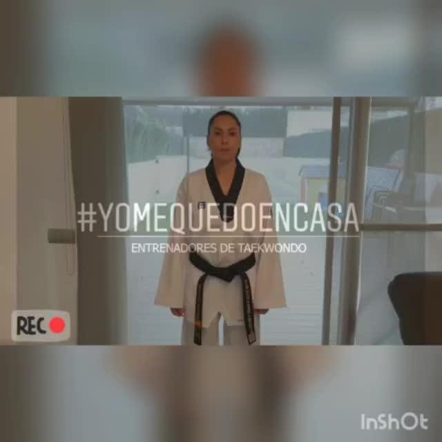 Brigit Yagüe y el taekwondo español animan a quedarse en casa