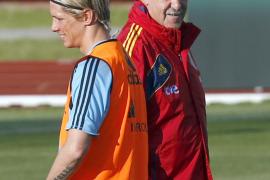 Del Bosque regresa a un sistema con 9: juega Fernando Torres