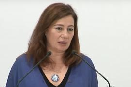 Armengol censura las políticas de Sánchez