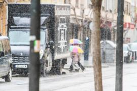 Una masa de aire «muy frío» traerá lluvias y frío a Baleares