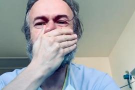 Tristán Ulloa denuncia entre lágrimas las condiciones «tercermundistas» de los sanitarios