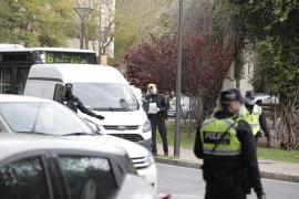 Palma reduce un 80 por ciento el tráfico mientras la policía aumenta los controles