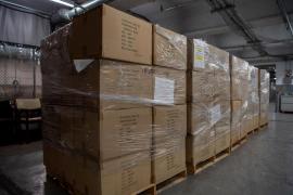 Baleares recibe más de 180.000 mascarillas en el reparto de material sanitario