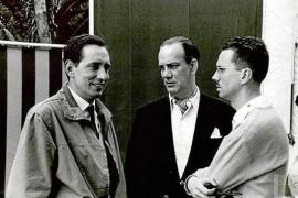 Miguel Delibes, con Camilo José Cela y Josep Maria Espinàs
