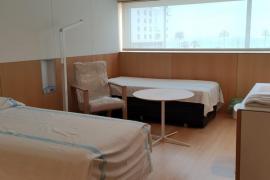 Trasladados los primeros pacientes al hotel Meliá Palma Bay
