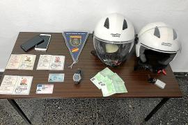 Condenados por robar un reloj de 35.000 euros a un turista en Palma