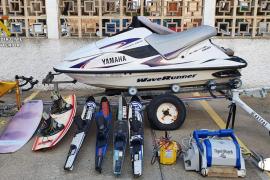 Tres detenidos en Alcúdia por un robo de material por valor de 8.000 euros