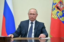 Putin decreta no laborable todo el mes de abril para contener el coronavirus