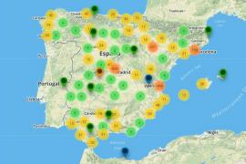 El mapa que pone en contacto a los que necesitan ayuda con quien la ofrece