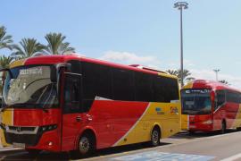 Drástica reducción de frecuencias de autobuses y trenes en Mallorca