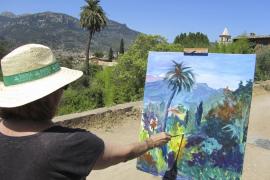 El Barranc de Biniaraix acoge otra edición de la Trobada de Pintors