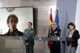Sanidad destaca la tendencia a la baja de los números de casos en España