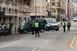 Aumentan en Palma las detenciones de ciudadanos por incumplir varias veces el confinamiento