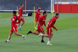 Jugadores del Mallorca entrenarán por videollamadas