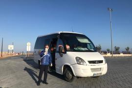 Formentera reduce los autobuses y taxis durante el estado de alarma