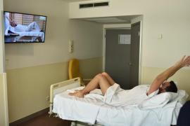 Ejercicio en Son Llàtzer para recuperar a los pacientes con COVID-19