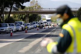 1.390 sanciones en dos días en Baleares por desobedecer el confinamiento