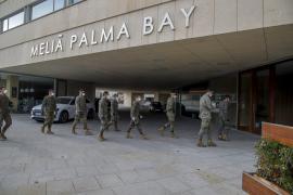 Un recorrido por el hotel medicalizado del Palau de Congressos de Palma