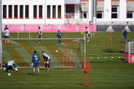 El Bayern de Múnich vuelve a los entrenamientos con medidas especiales por el coronavirus