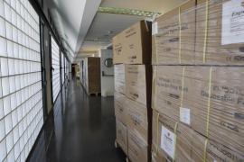 Llegan a Baleares 1.583.000 mascarillas y 10.500 tests rápidos adquiridos por el Govern