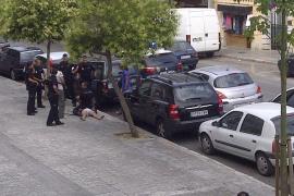 Un hombre drogado muere tras ser reducido por la policía en Palma