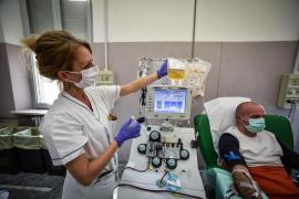 Italia supera los 130.000 contagios pero caen los ingresos en UCI