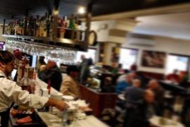 El guiño del Bar Mavi hacia la prensa escrita de Mallorca