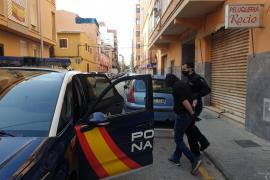 La policía desmantela un supermercado de marihuana en la zona de plaza Serralta