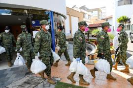 El Gobierno de Ecuador ha evacuado todos los cadáveres que se encontraban en domicilios