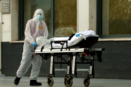 Repunta tras cuatro días la cifra de fallecidos diarios en España
