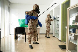 ¿Cómo se desinfectan las residencias de mayores?