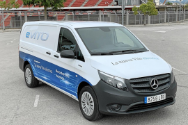 Mercedes e-Vito, máxima eficiencia energética
