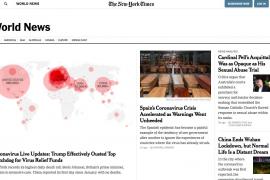 'The New York Times' ataca al Gobierno por ignorar la llegada del COVID-19