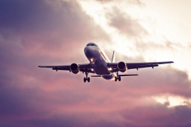 Así ha disminuido el tráfico aéreo en España de la noche a la mañana