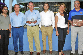 Entrega de premios del XXXIV Trofeo de las Fuerzas Armadas de vela