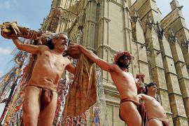 La crisis del coronavirus 'infecta' los 35 años del 'Via Crucis' de Taula Rodona