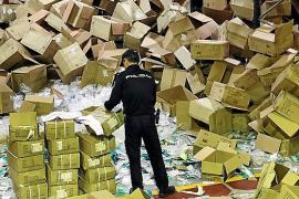 Las mascarillas 'mallorquinas' robadas acabaron en el mercado negro portugués
