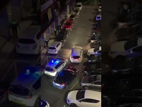 Impactante persecución policial en Rentería