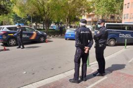 Detenido en Palma tras deambular cinco horas sin motivo justificado